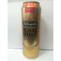 пиво Kalnapilis Royal Select 0,568 л ж/б NEW!!!